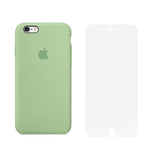 کاور مدل SLCN_01 مناسب برای گوشی موبایل اپل iPhone 6 Plus / 6s Plus به همراه محافظ صفحه نمایش