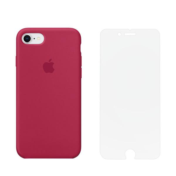 کاور مدل SLCN_01 مناسب برای گوشی موبایل اپل iPhone 7 / 8 به همراه محافظ صفحه نمایش