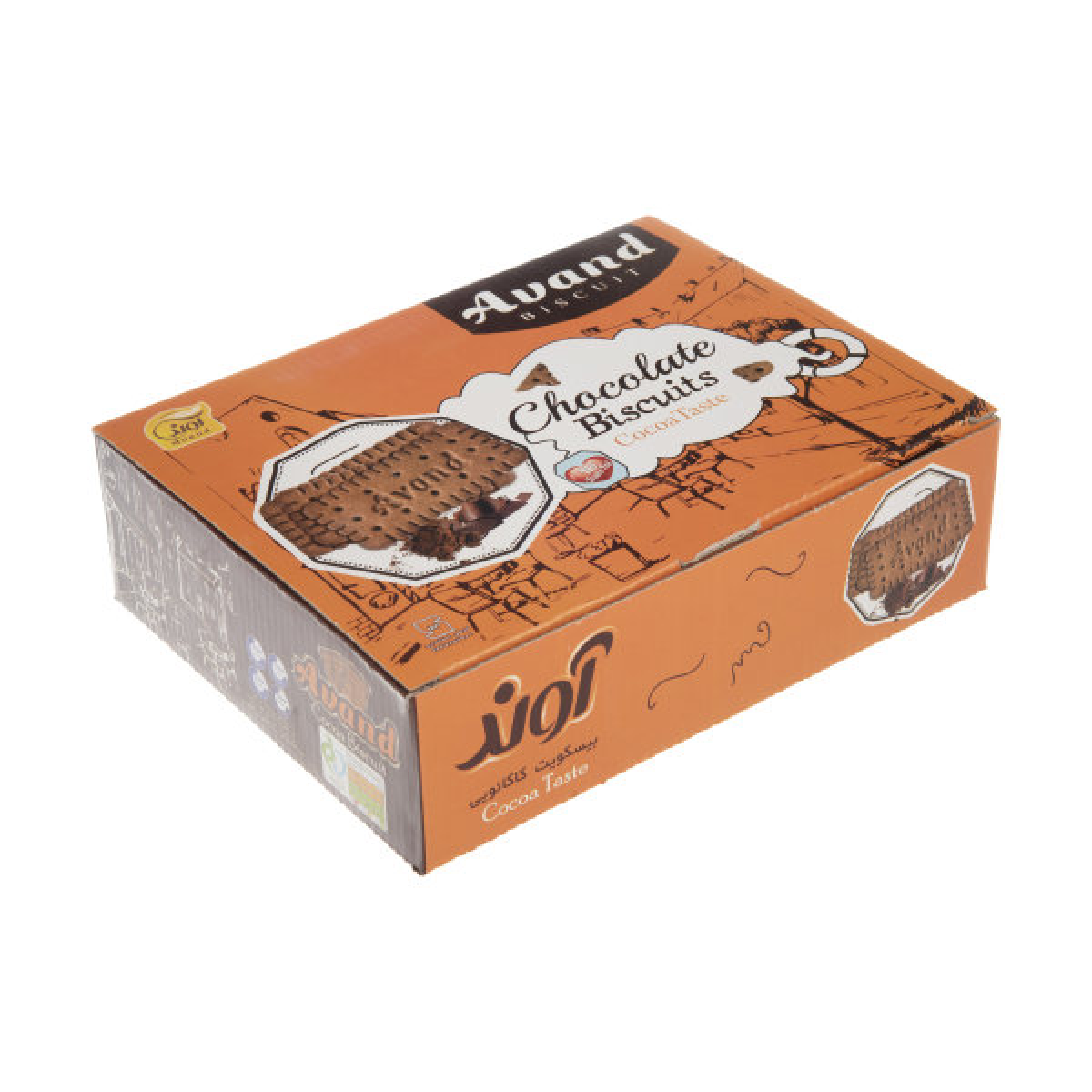 بیسکویت آوند با طعم کاکائو - 1140 گرم