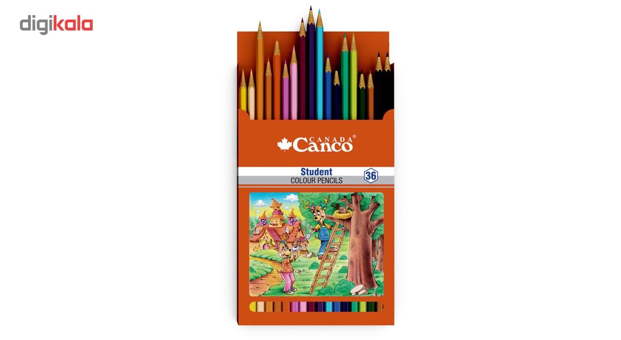 قیمت خرید مداد رنگی 36 رنگ کنکو مدل Student اورجینال
