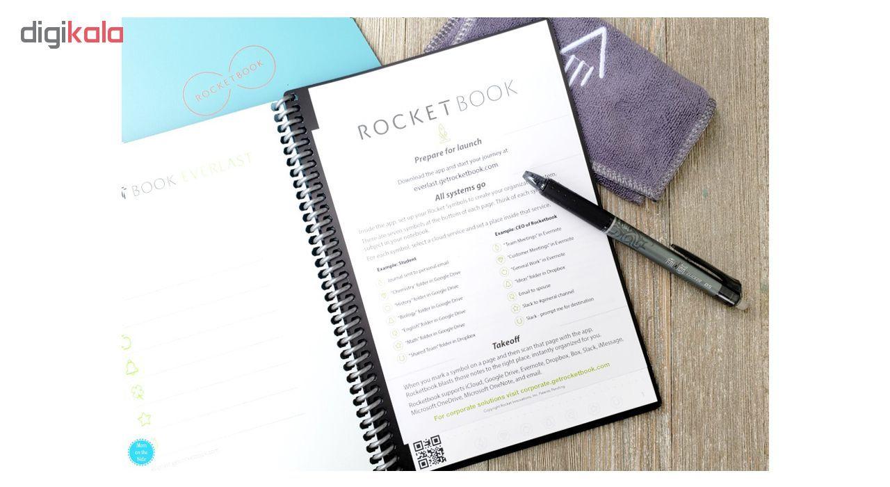 دفتر یادداشت راکت بوک مدل Everlast Letter main 1 15