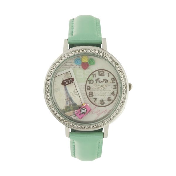 ساعت مچی عقربه ای دخترانه مدل TM-003