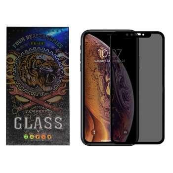 محافظ صفحه نمایش حريم شخصي مدل fb-01 مناسب برای گوشی موبایل اپل iphone 11 pro max