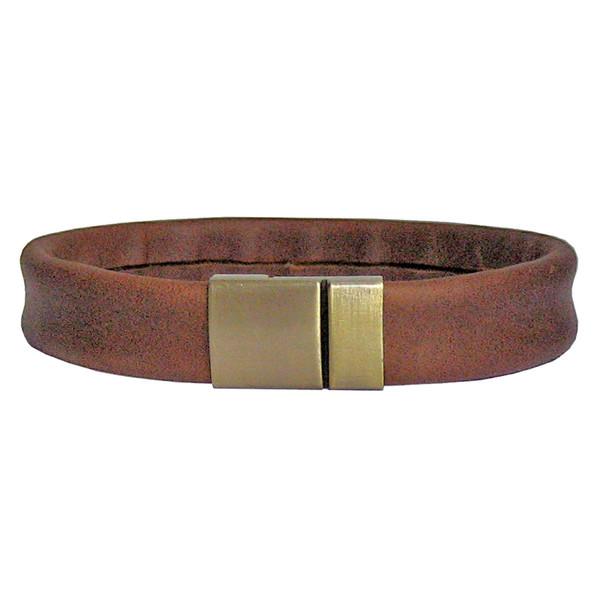 دستبند زنانه چرم دانوب مدل Br-005 کد 005 سایز M