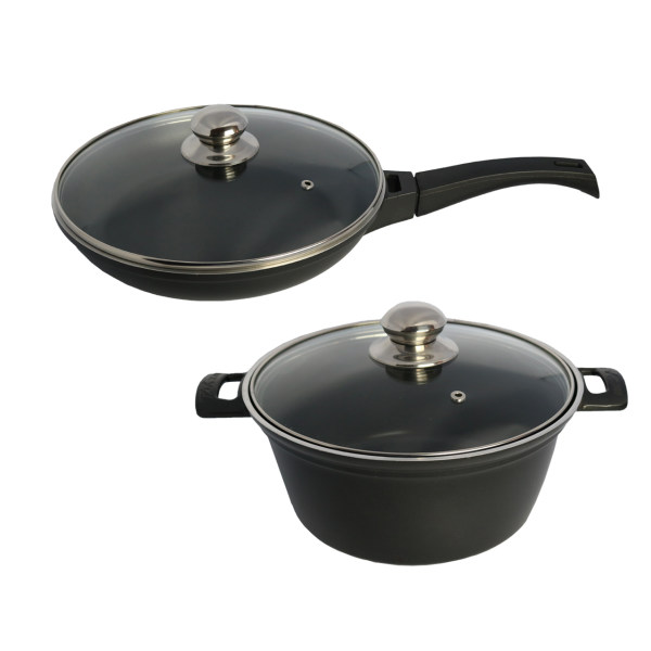 سرویس پخت و پز 4 پارچه تک ظرف مدل H1