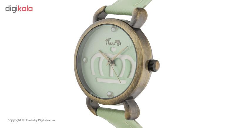 ساعت مچی عقربه ای دخترانه مدل TM-045