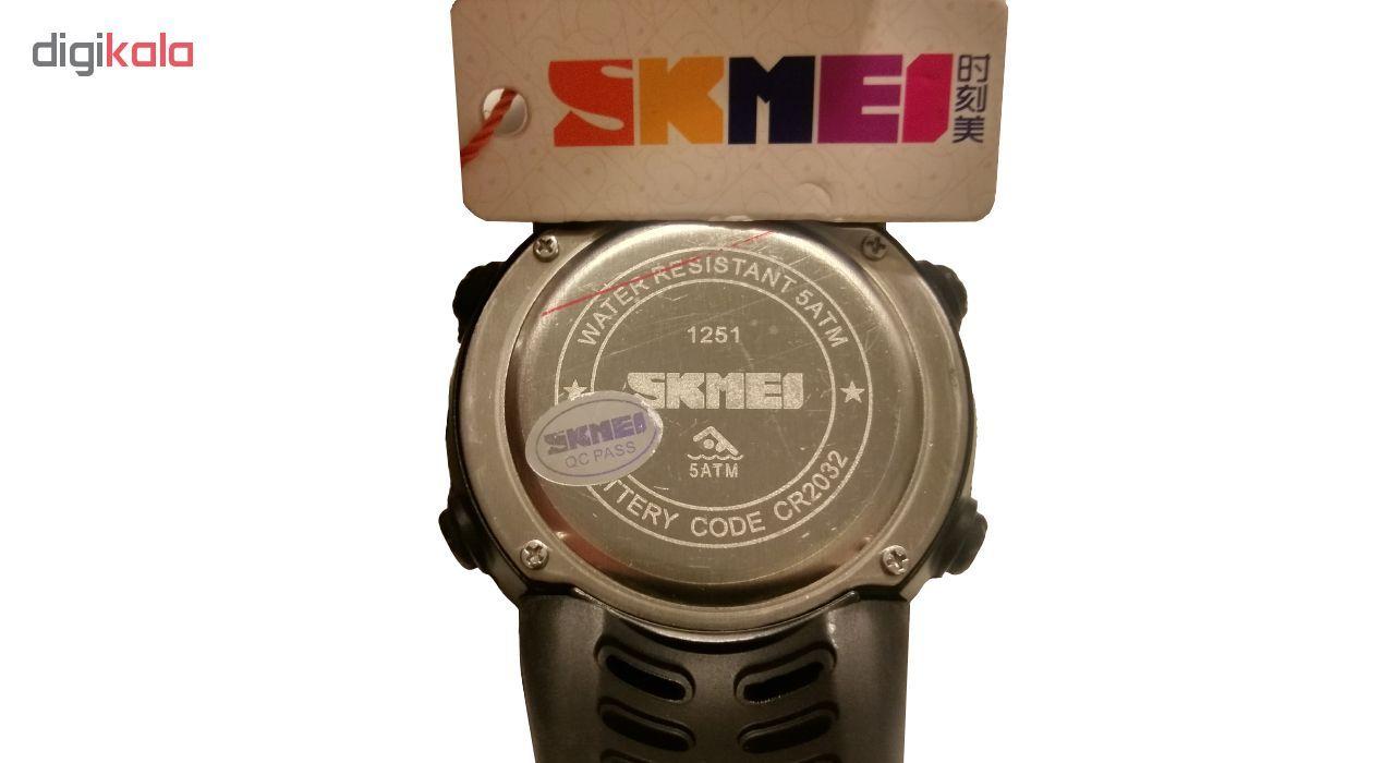ساعت مچی دیجیتال اسکمی مدل A-1251 -  - 12