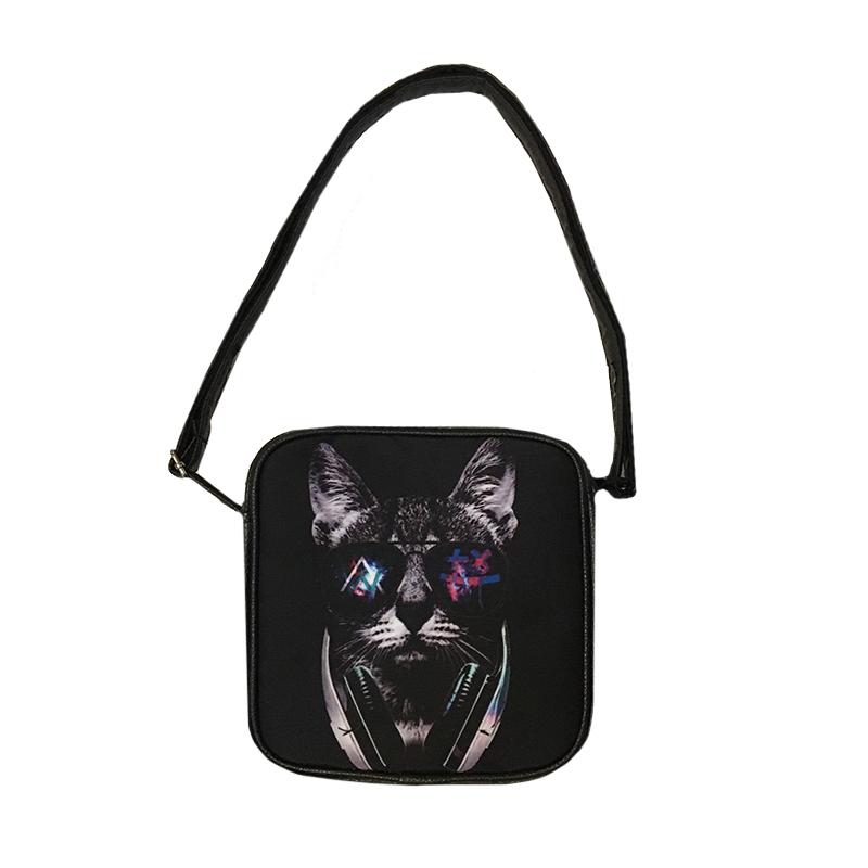 کیف دوشی طرح گربه کد m48