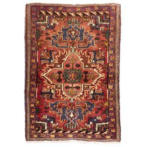 فرش دستباف قدیمی یک و نیم متری سی پرشیا کد 177013