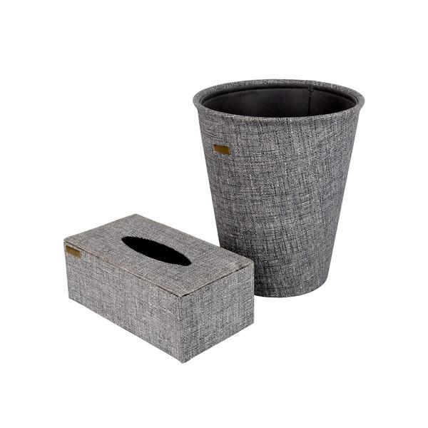 ست سطل و جعبه دستمال کاغذی کد 1460