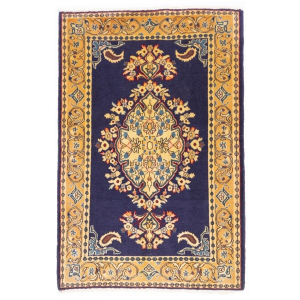 فرش دستباف قدیمی ذرع و نیم سی پرشیا کد 177020