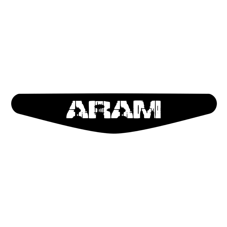برچسب لایت بار دسته پلی استیشن 4 ونسونی طرح ARAM