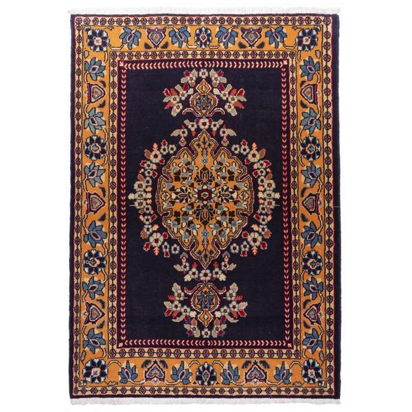 فرش دستباف قدیمی ذرع و نیم سی پرشیا کد 177021