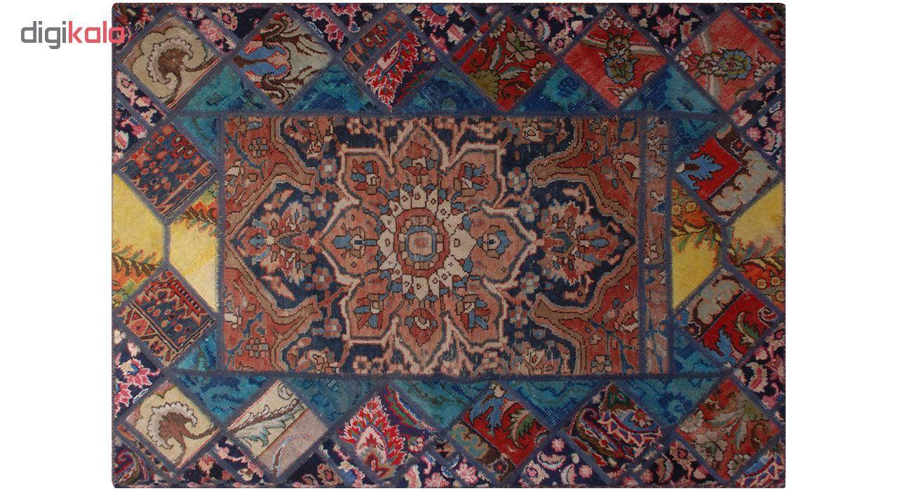 کلاژ فرش دستبافت دو و نیم متری فرش هریس کد 101531