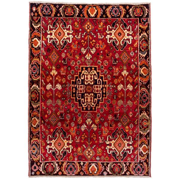 فرش دستباف قدیمی ذرع و نیم سی پرشیا کد 177027