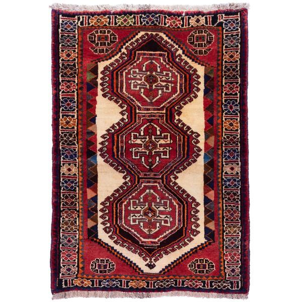 فرش دستباف قدیمی ذرع و نیم سی پرشیا کد 177032