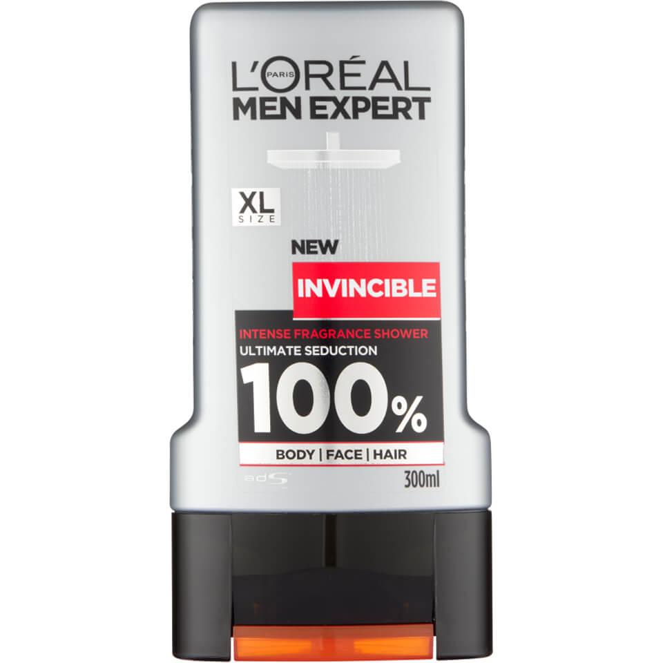 شامپو مو و بدن لورآل مدل INVINCIBLE حجم 300 میلی لیتر