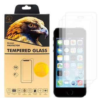 محافظ صفحه نمایش گلدن ایگل مدل GLC-X3 مناسب برای گوشی موبایل اپل iPhone 5s بسته سه عددی