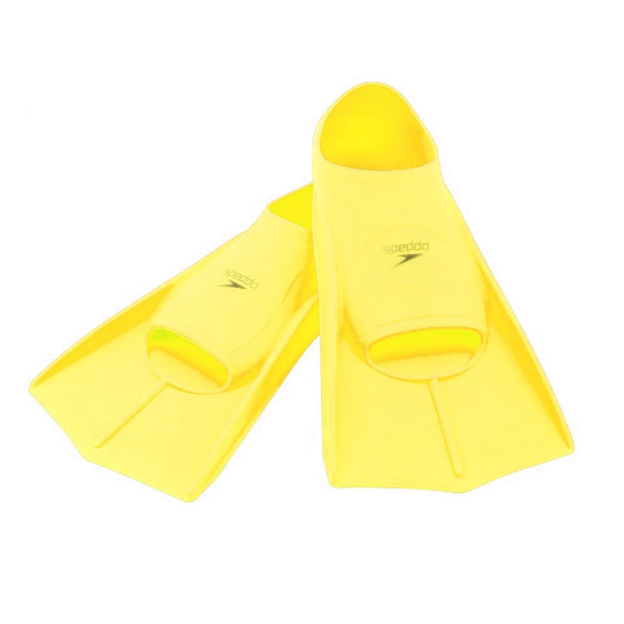 فین شنای اسپدوی مدل تمرینی کوتاه زرد سایز 35-36