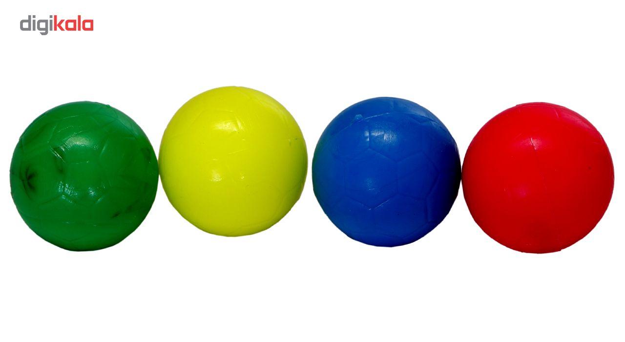 توپ فوتبال دستی بسته 4 عددی سایز 4 main 1 1