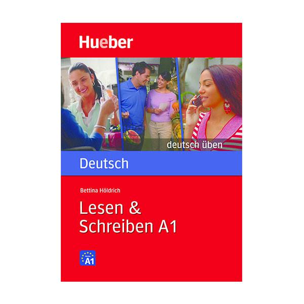 کتاب Lesen & Schreiben A1 اثر Bettina Holdrich انتشارات Hueber verlag