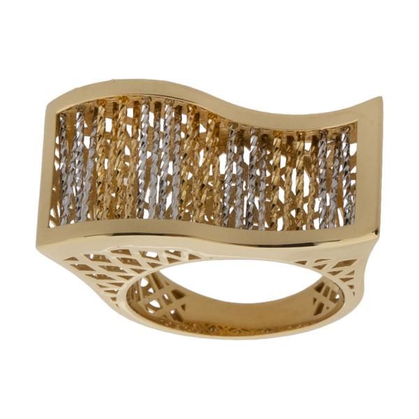 انگشتر طلا 18 عیار زنانه آلند کد R1