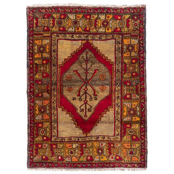 فرش دستباف قدیمی ذرع و نیم سی پرشیا کد 177016