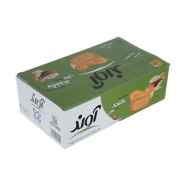 بیسکویت آوند با طعم هل و تزیین کنجد - 1.9 کیلوگرم