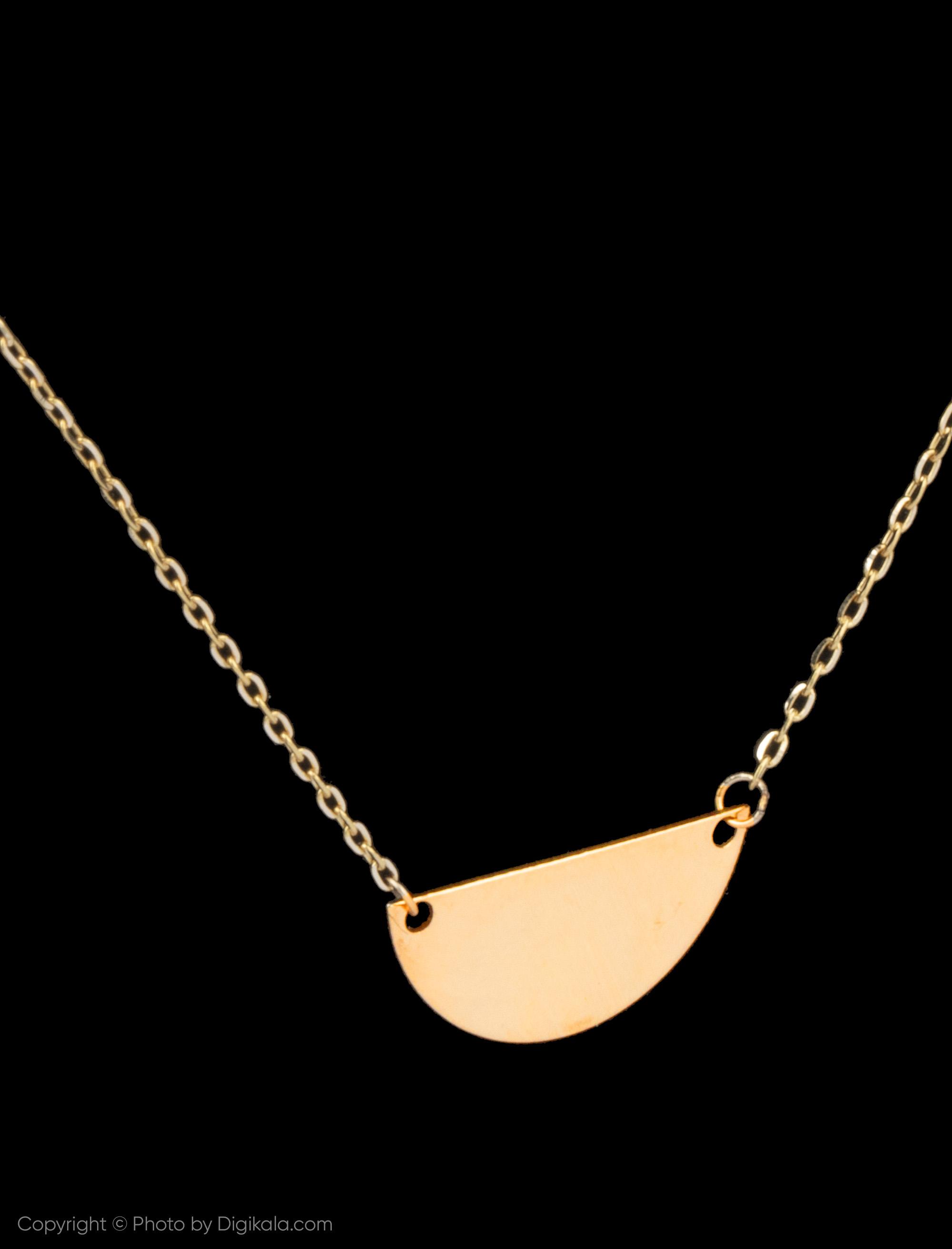 گردنبند طلا 18 عیار زنانه نیوانی مدل GA165