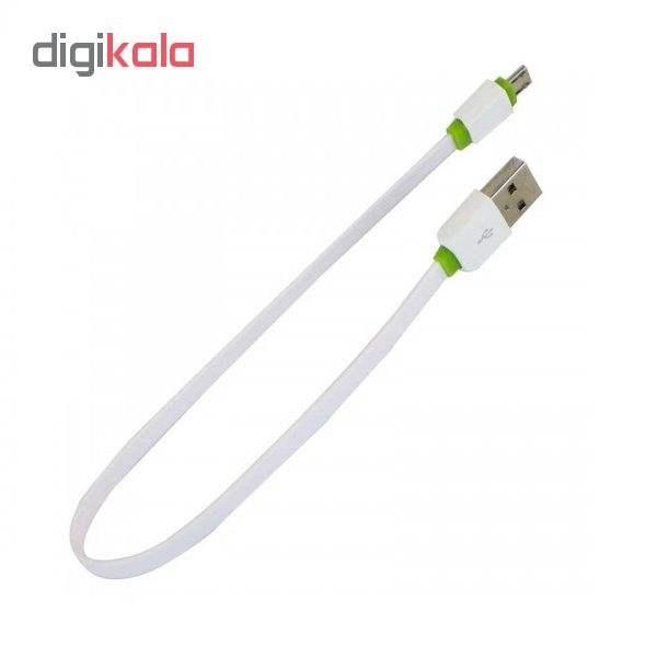 کابل تبدیل USB به microUSB الدینیو مدل XS-073 طول 0.3 متر main 1 1