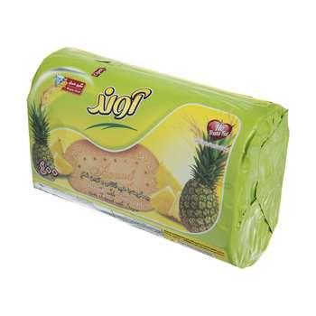 بیسکویت آوند با طعم آناناس و تزیین شکر مقدار 360 گرم