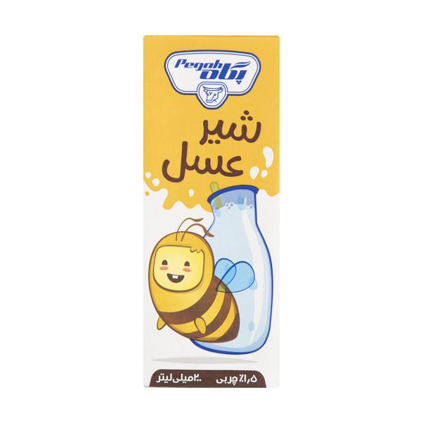 شیر عسل پگاه حجم 200 میلی لیتر