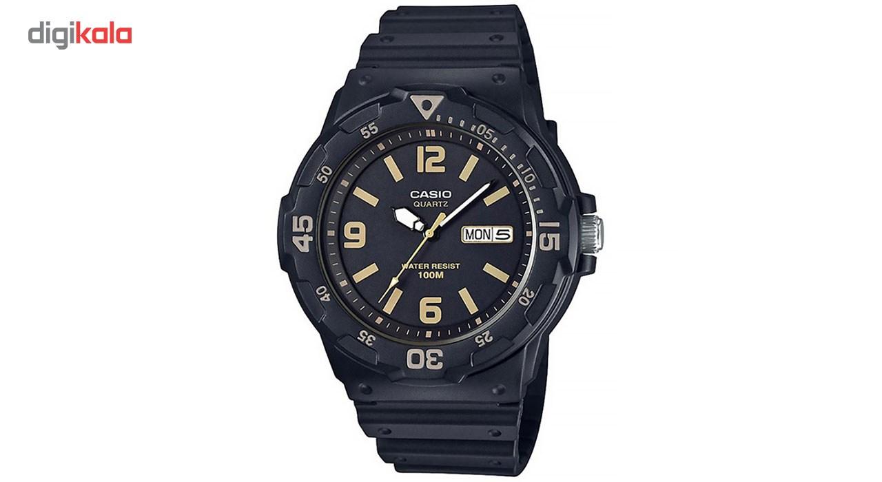 خرید ساعت مچی عقربه ای مردانه کاسیو مدل MRW-200H-1B3VDF
