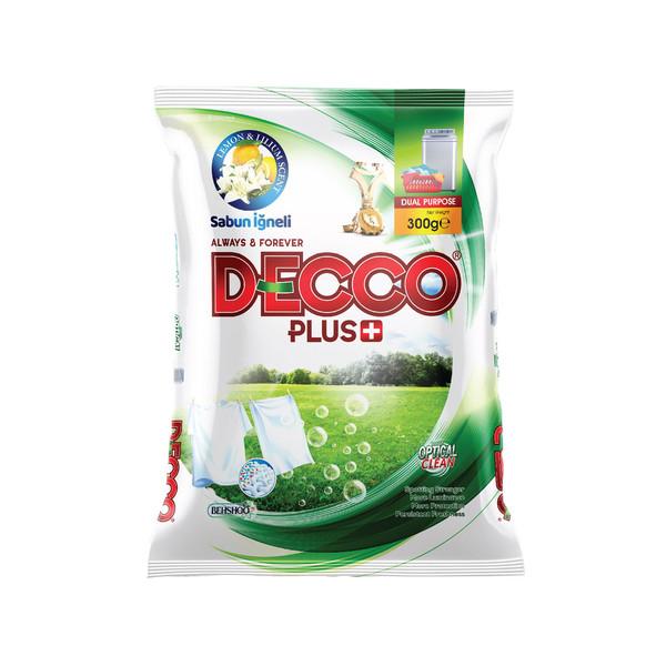 پودر لباسشویی دستی دکوپلاس + کد 01 وزن 300 گرم