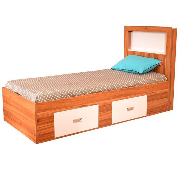 تخت خواب یک نفره لمکده مدل دلارا سایز 211*94 سانتی متر