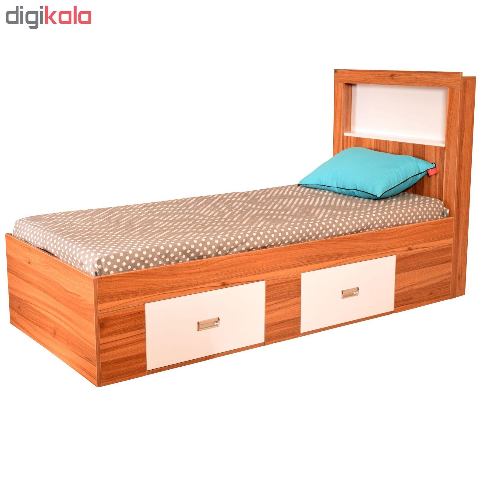 تخت خواب یک نفره لمکده مدل دلارا سایز 211*94 سانتی متر main 1 1