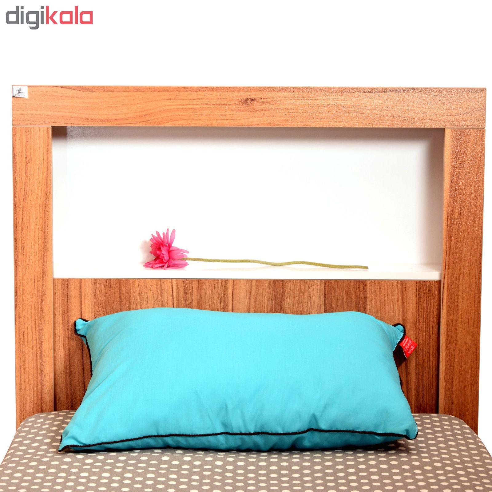 تخت خواب یک نفره لمکده مدل دلارا سایز 211*94 سانتی متر main 1 4