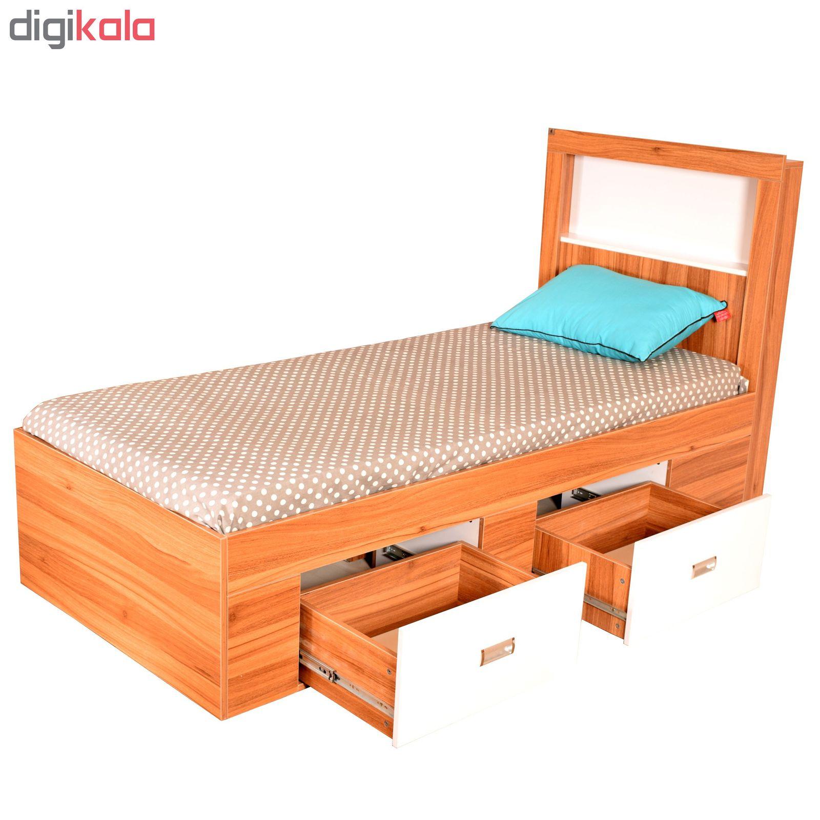 تخت خواب یک نفره لمکده مدل دلارا سایز 211*94 سانتی متر main 1 5
