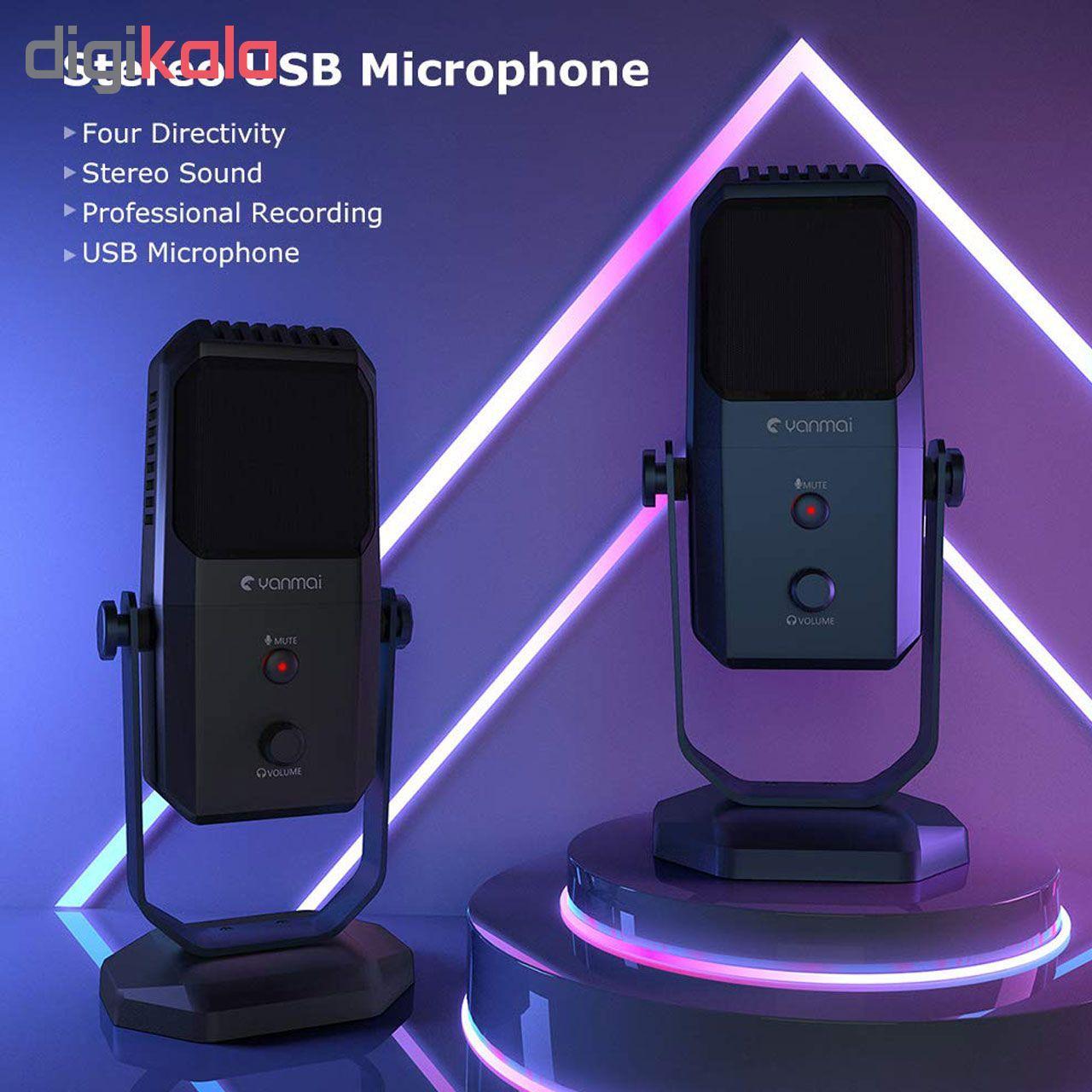 میکروفون استودیویی یانمای مدل SF-900 main 1 7