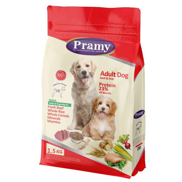 غذای خشک سگ پرامی مدل Adult Dog حجم 1.5 کیلوگرم