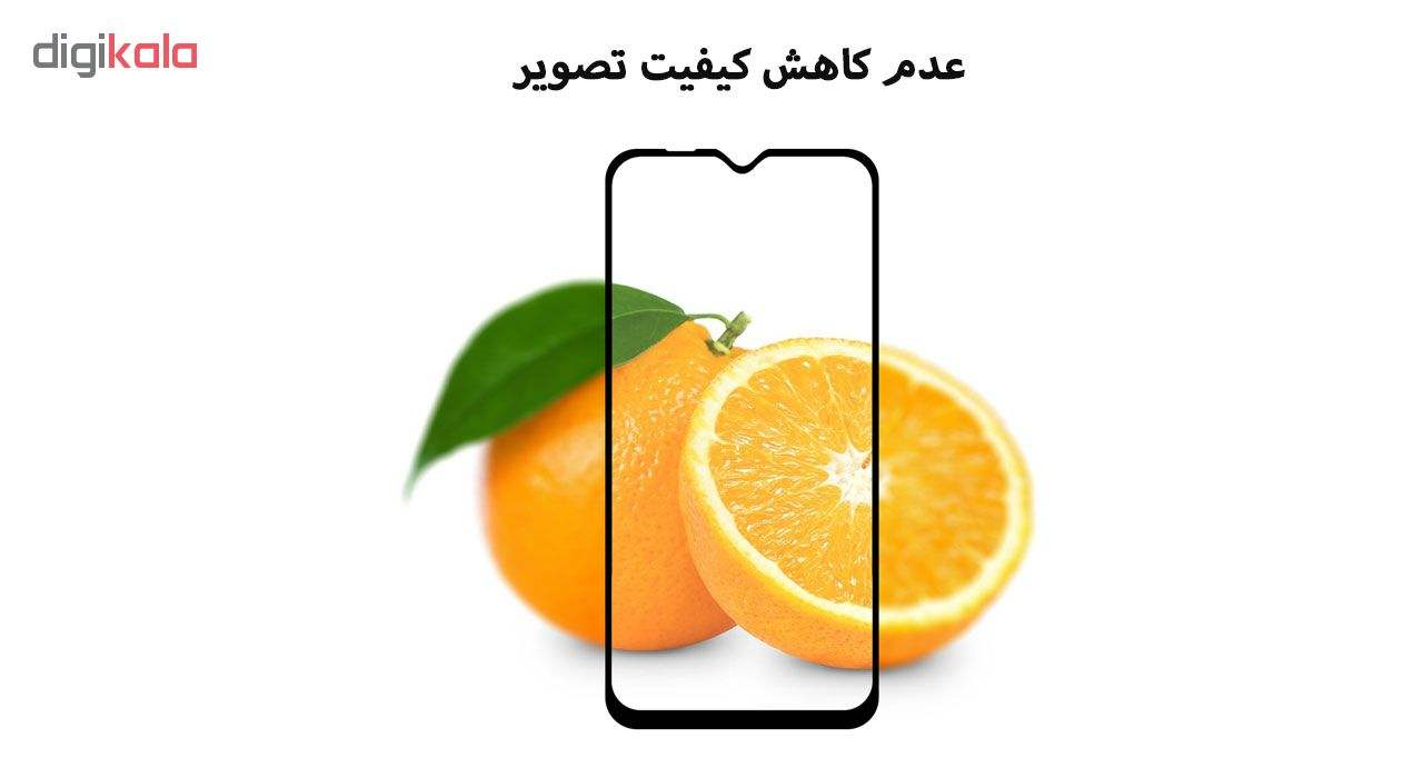 محافظ صفحه نمایش 5D هورس مدل FAG مناسب برای گوشی موبایل سامسونگ Galaxy A10 بسته دو عددی main 1 5