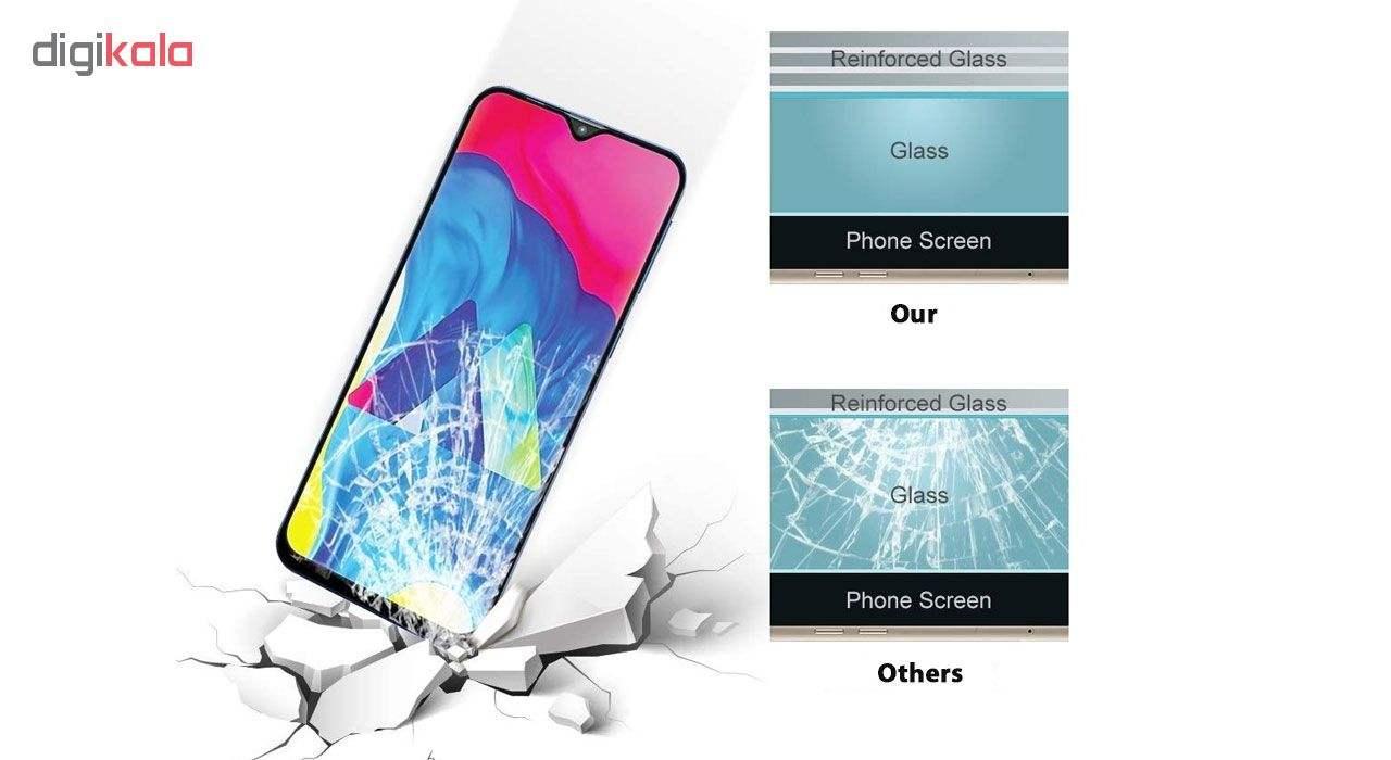 محافظ صفحه نمایش 5D هورس مدل FAG مناسب برای گوشی موبایل سامسونگ Galaxy A10 بسته دو عددی main 1 8