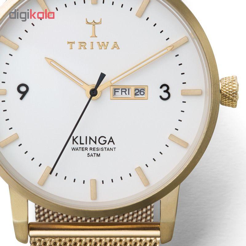 ساعت مچی عقربه ای تریوا مدل Ivory Klinga