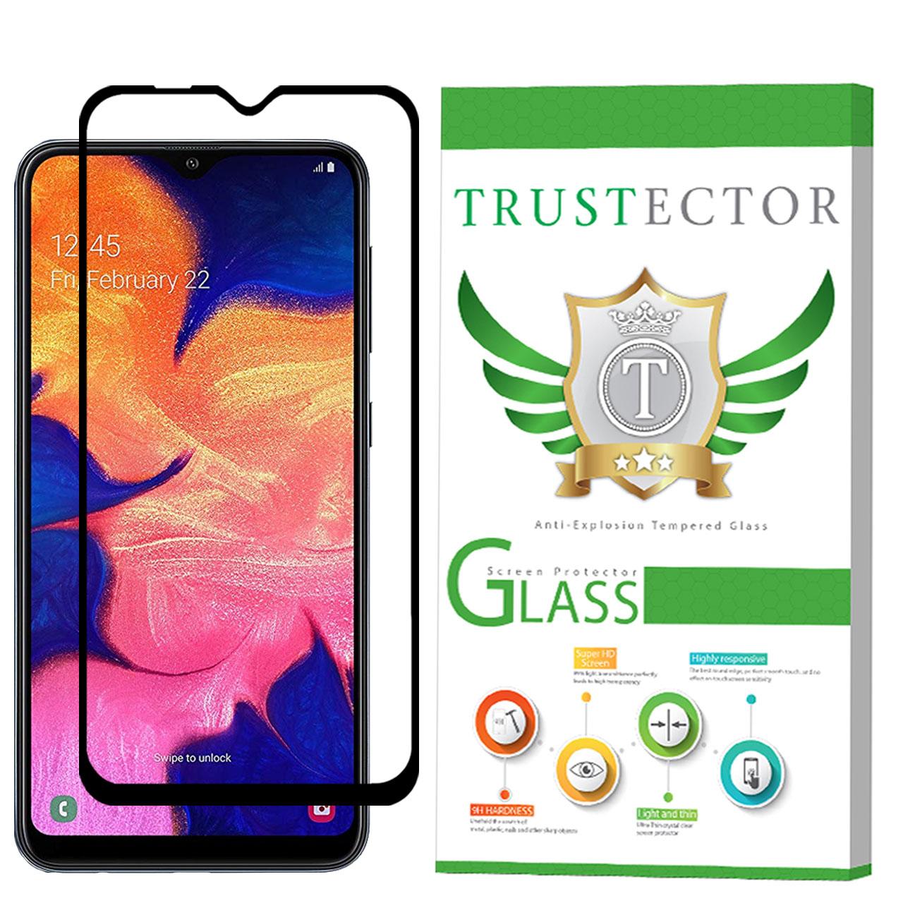 محافظ صفحه نمایش تراستکتور مدل GSS مناسب برای گوشی موبایل سامسونگ Galaxy A10