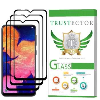 محافظ صفحه نمایش تراستکتور مدل GSS مناسب برای گوشی موبایل سامسونگ Galaxy A10 بسته 3 عددی
