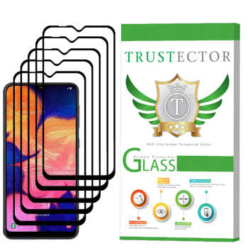 محافظ صفحه نمایش تراستکتور مدل GSS مناسب برای گوشی موبایل سامسونگ Galaxy A10 بسته 5 عددی