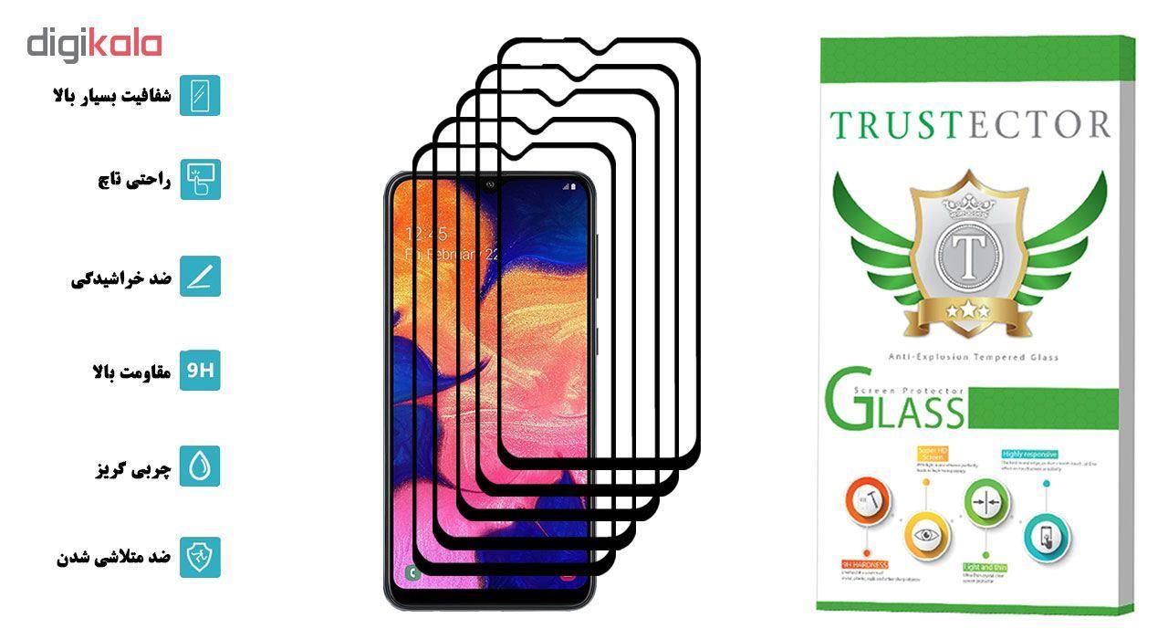 محافظ صفحه نمایش تراستکتور مدل GSS مناسب برای گوشی موبایل سامسونگ Galaxy A10 بسته 5 عددی main 1 2