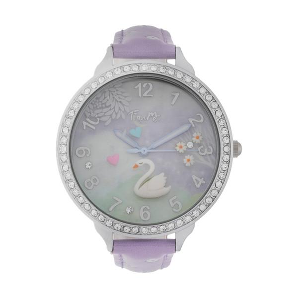 ساعت مچی عقربه ای دخترانه مدل TM-100