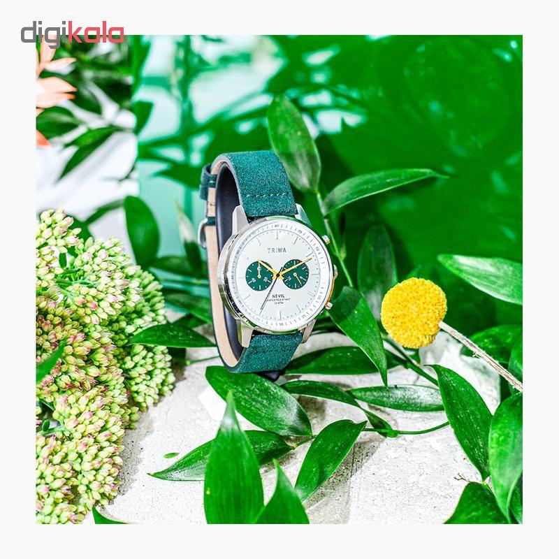 کد تخفیف                                      ساعت مچی عقربه ای تریوا مدل Emerald Nevil