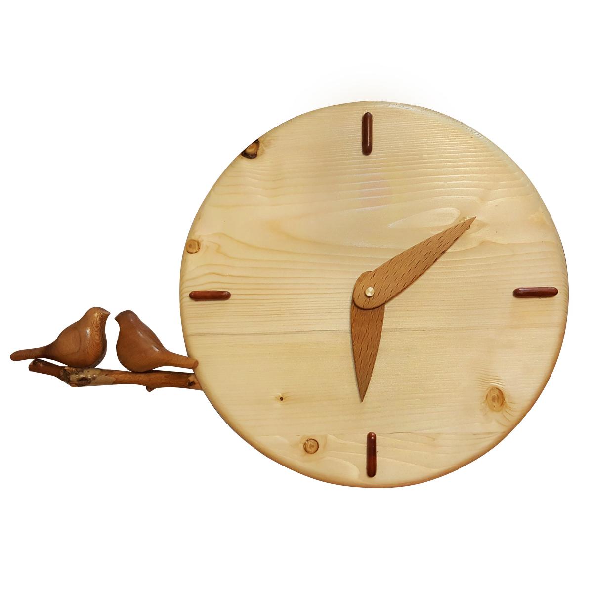 ساعت دیواری مدل گنجشک کد 410